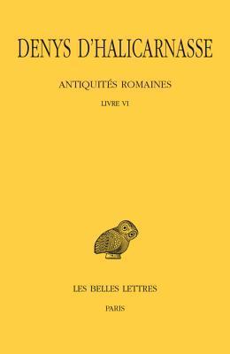 Denys D'halicarnasse, Antiquites Romaines