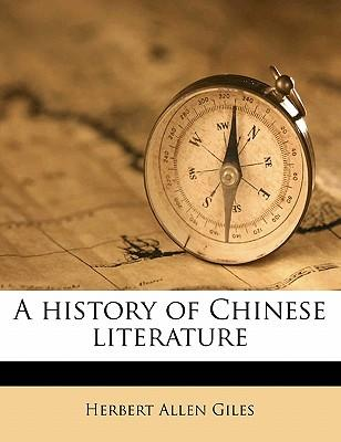 A History of Chinese...