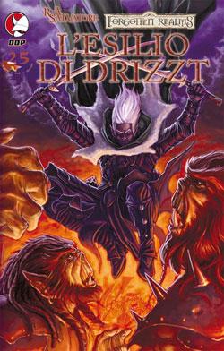 Esilio di Drizzt. La leggenda di Drizzt. Forgotten Realms. Vol. 3