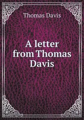 A Letter from Thomas...