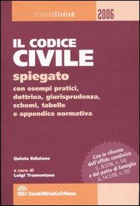 Il codice civile spiegato con esempi pratici, dottrina, giurisprudenza, schemi, tabelle e appendice normativa