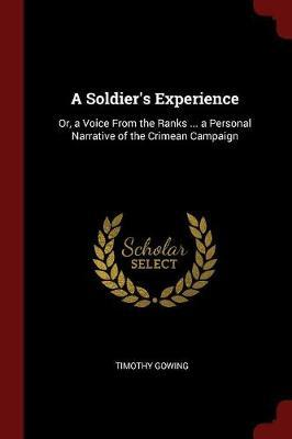 A Soldier's Experience