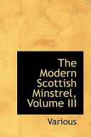 The Modern Scottish Minstrel
