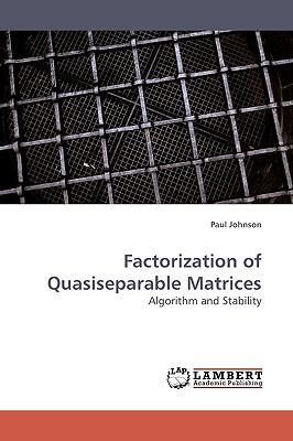 Factorization of Quasiseparable Matrices