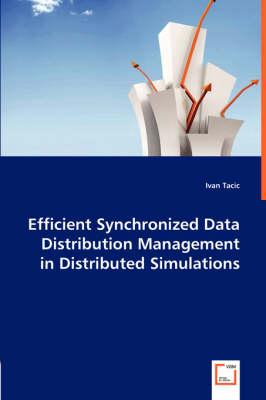 Efficient Synchronized Data Distribution Management in Distributed Simulations
