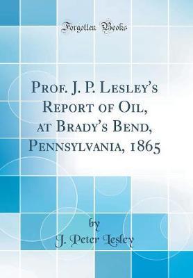 Prof. J. P. Lesley's...