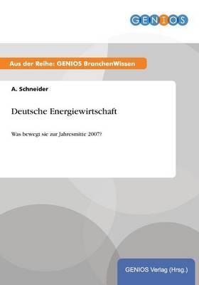 Deutsche Energiewirtschaft