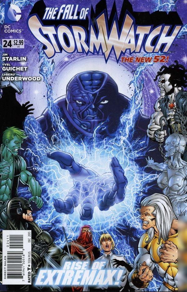 Stormwatch Vol.3 #24