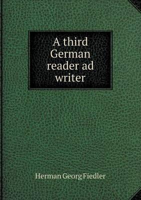 A Third German Reader Ad Writer