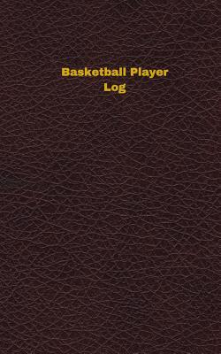 Basketball Player Logbook Deep Wine Cover