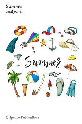 Summer Lined Journal