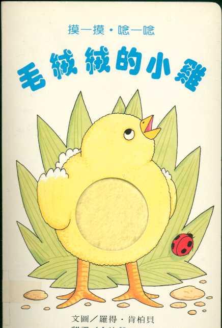 毛絨絨的小雞