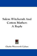 Salem Witchcraft and...