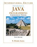 Introduction to Java Programming: Comprehensive