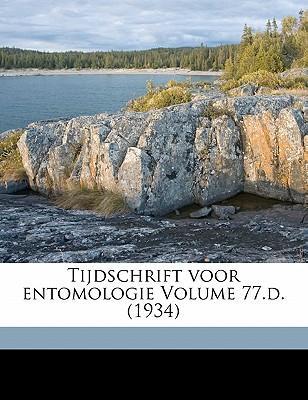 Tijdschrift Voor Entomologie Volume 77.D. (1934)