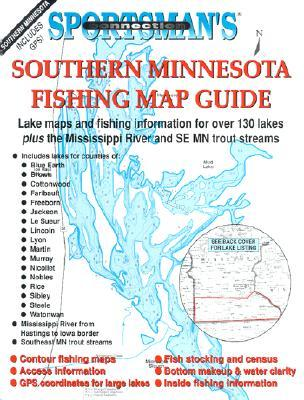 Southern Minnesota Fishing Maps Guide Book