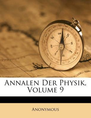 Annalen der Physik, Neunter Band