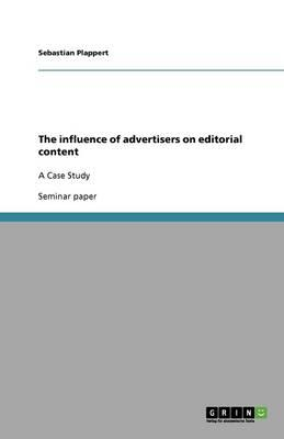 The influence of advertisers on editorial content