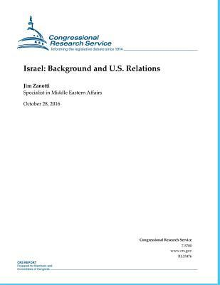 Israel Background and U.s. Relations