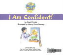 The Best Me I Can Be: I Am Confident!