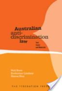 Australian Anti-discrimination Law