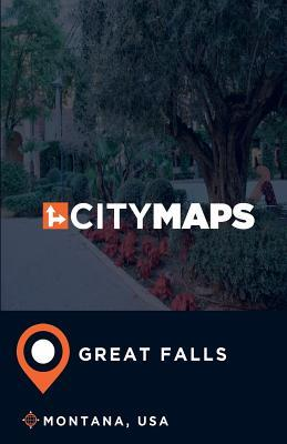 City Maps Great Falls Montana, USA