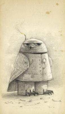 Shaun Tan notebook no 2