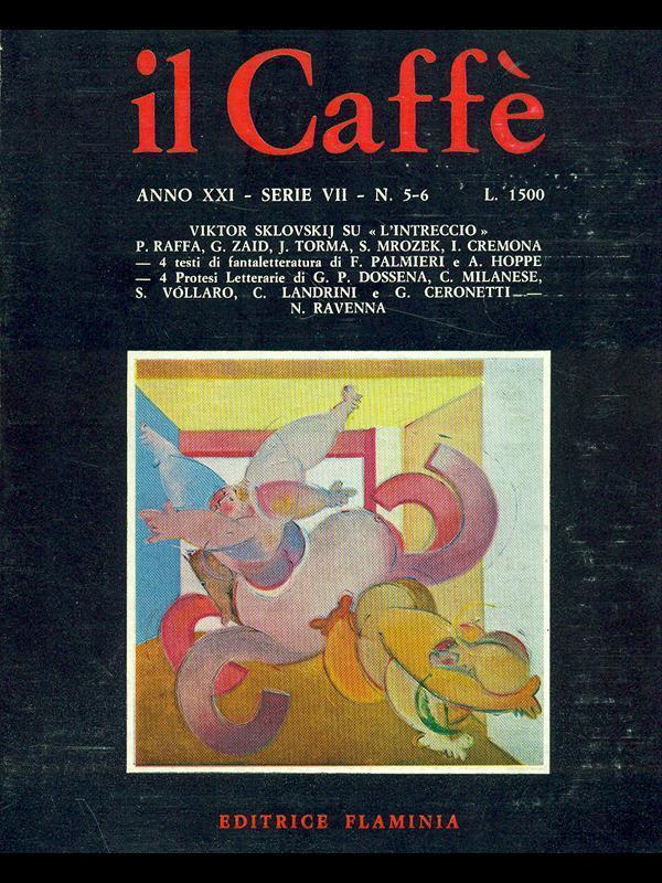 Il Caffè satirico di letteratura e attualità n.5-6 (1975)
