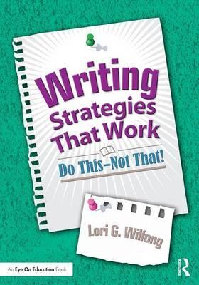 Writing Strategies That Work