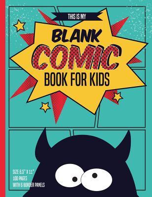 Blank Comic Books for Kids