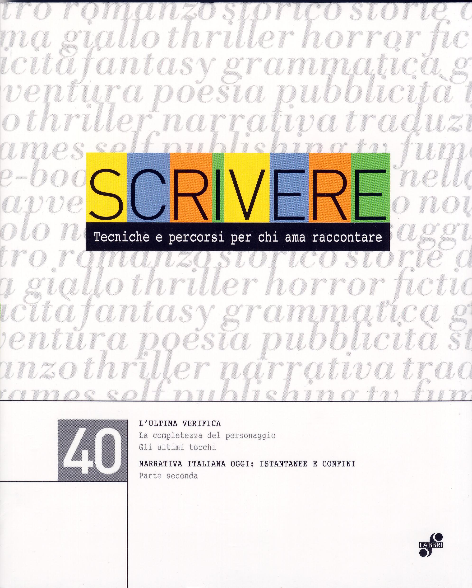 Scrivere - vol. 40