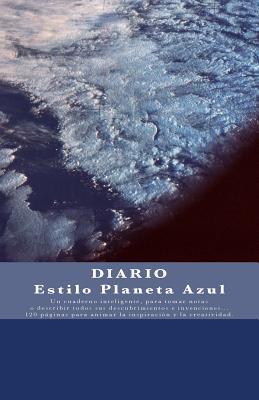 Diario Estilo Planeta Azul / Blue planet Style Journal