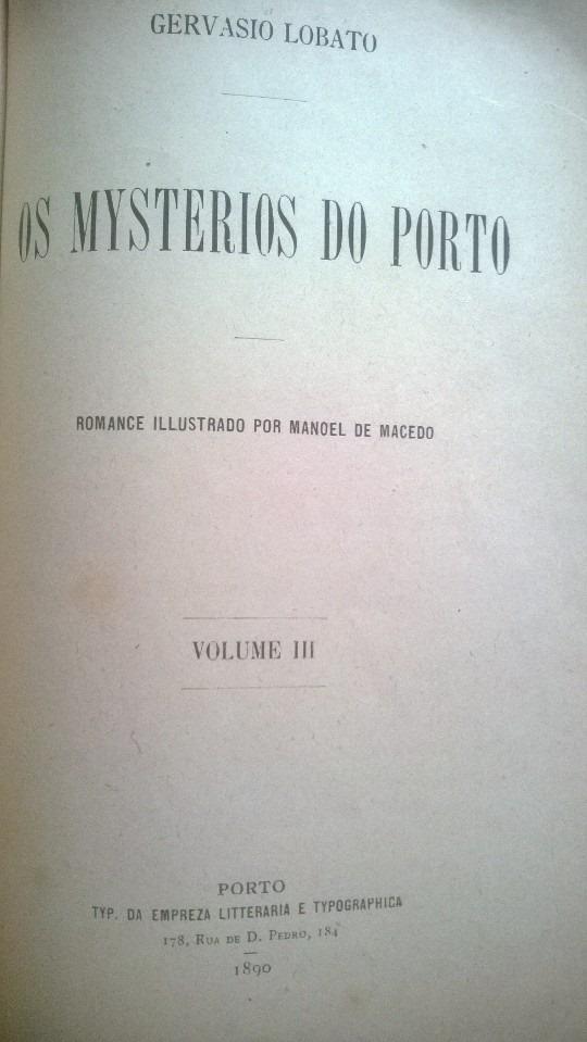 Os mysterios do Porto, 3