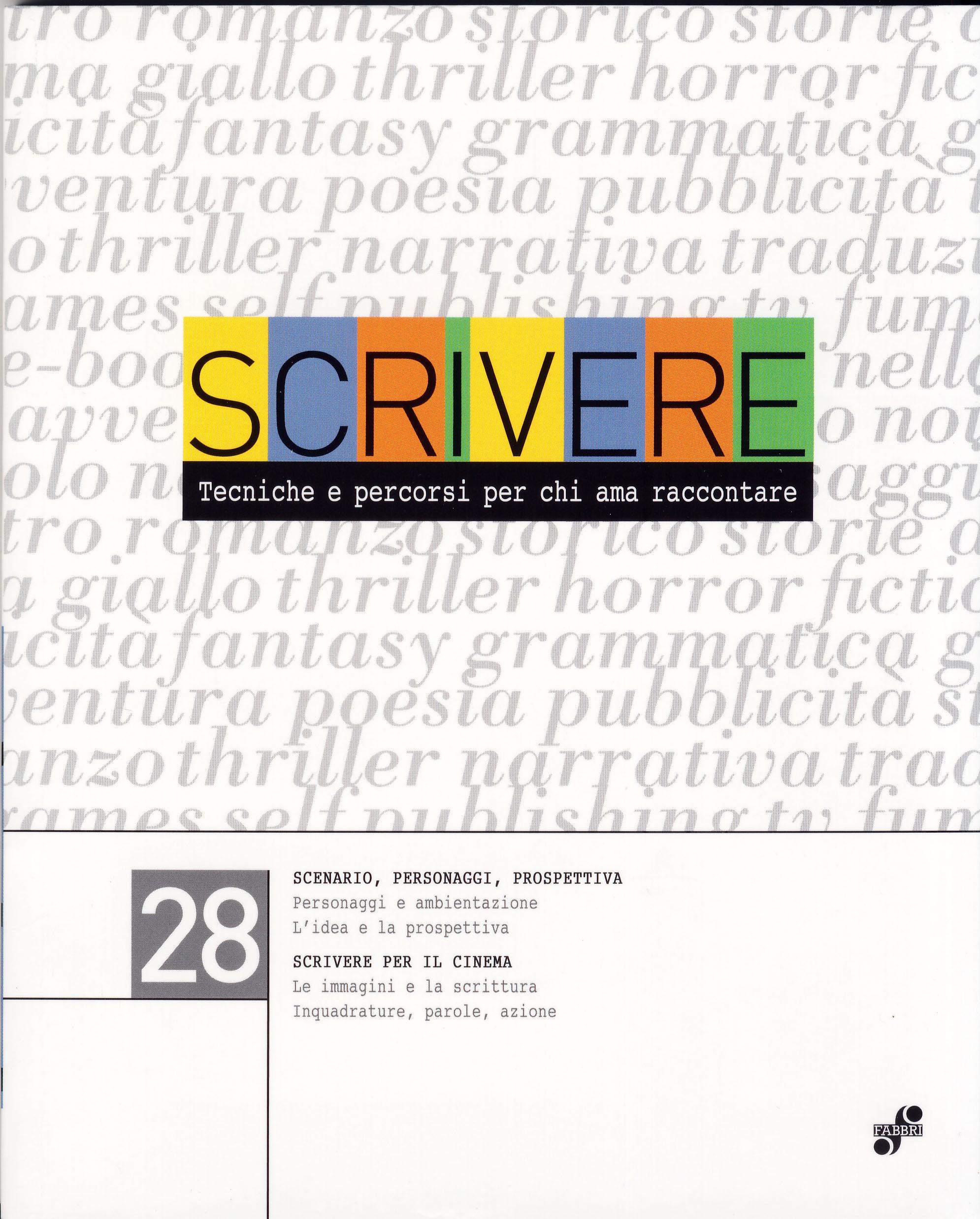 Scrivere - vol. 28
