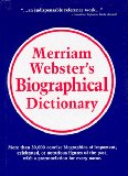Merriam-Webster's bi...