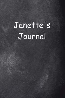 Janette Personalized Name Journal