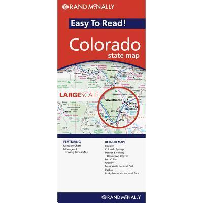 Rand Mcnally Easy to Read Colorado