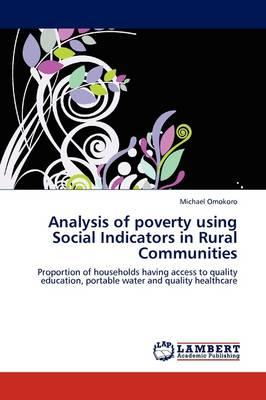 Analysis of poverty using Social Indicators in Rural Communities