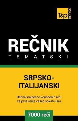 Srpsko-Italijanski tematski recnik - 7000 korisnih reci