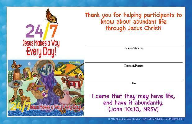Vacation Bible School Vbs 2018 24/7 Leader Certificates