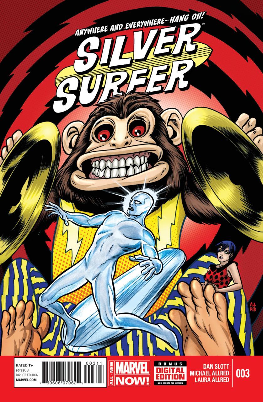Silver Surfer Vol.7 #3