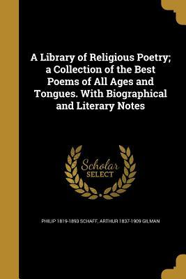LIB OF RELIGIOUS POETRY A COLL