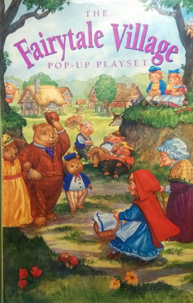 The Fairytale Village Pop-up Playset