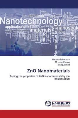 ZnO Nanomaterials