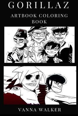 Gorillaz Artbook Coloring Book