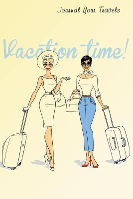 Retro Vacation Time Travel Journal