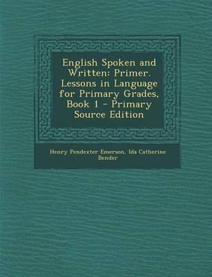 English Spoken and Written