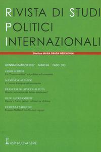 Rivista di studi politici internazionali (2017)