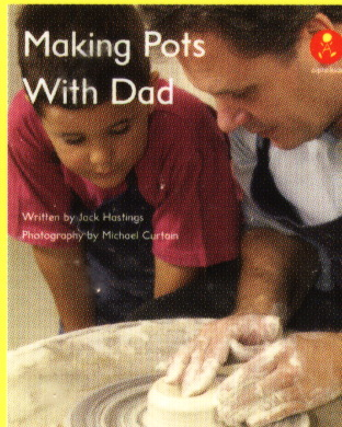 Making pots with Dad