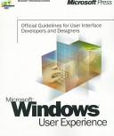 Microsoft Windows user experience